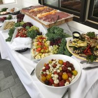 Let us cater your next event, on or off premise options available, including a full traditional Italian antipasto table.